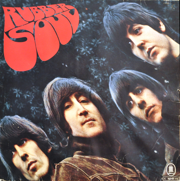 The Beatles - Rubber Soul (German Odeon Records release 1C 062-04 115)
